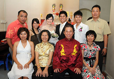 Happy Wong Family