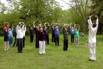 Qigong Gruppe Training