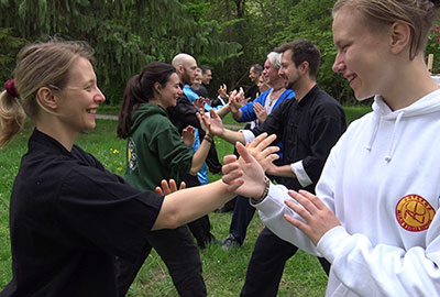 Taijiquan Training in Wien